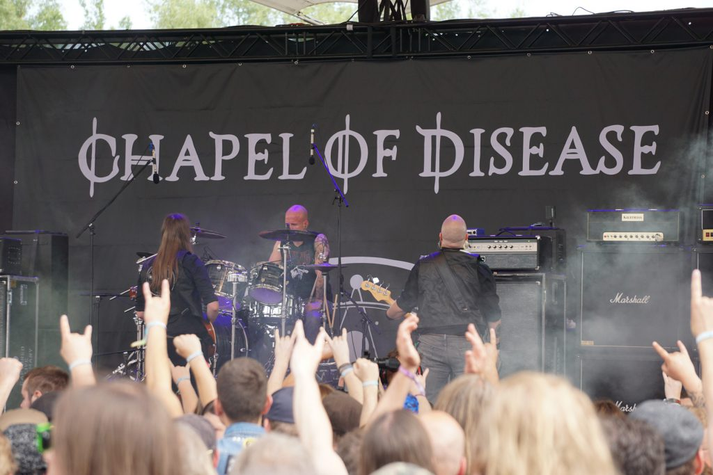 Chapel Of Disease - Rock Hard Festival 2019