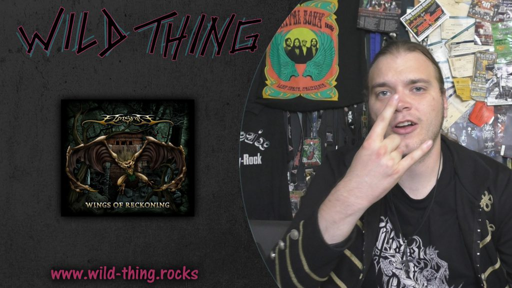 Elmsfire - Wings Of Reckoning: Klassisch deutscher Metal