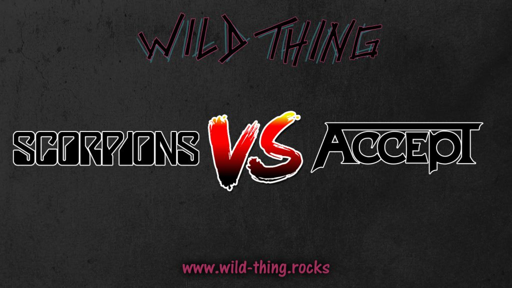 Scorpions VS Accept Band Duell