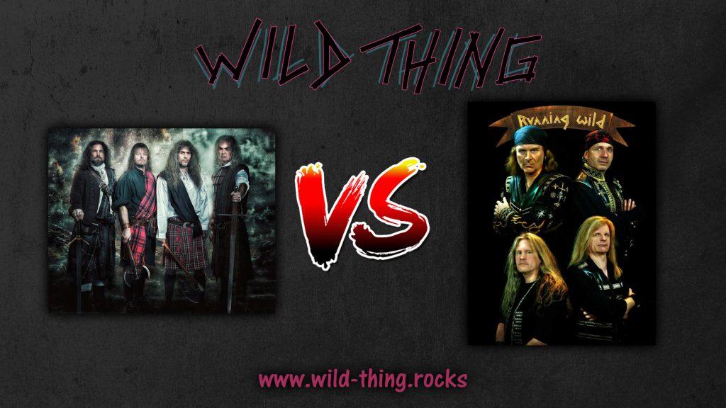 Grave Digger VS Running Wild