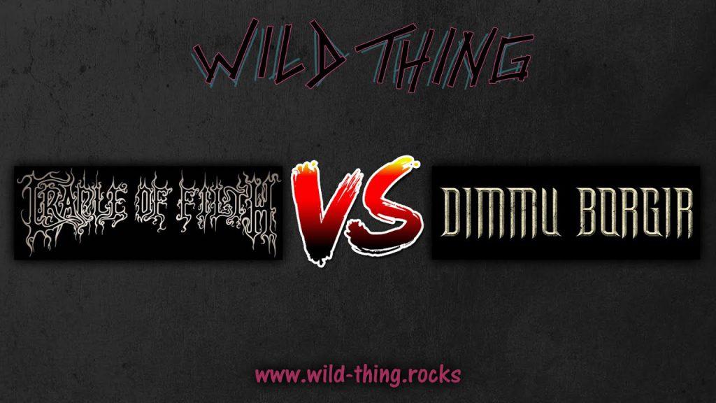 Cradle Of Filth VS Dimmu Borgir